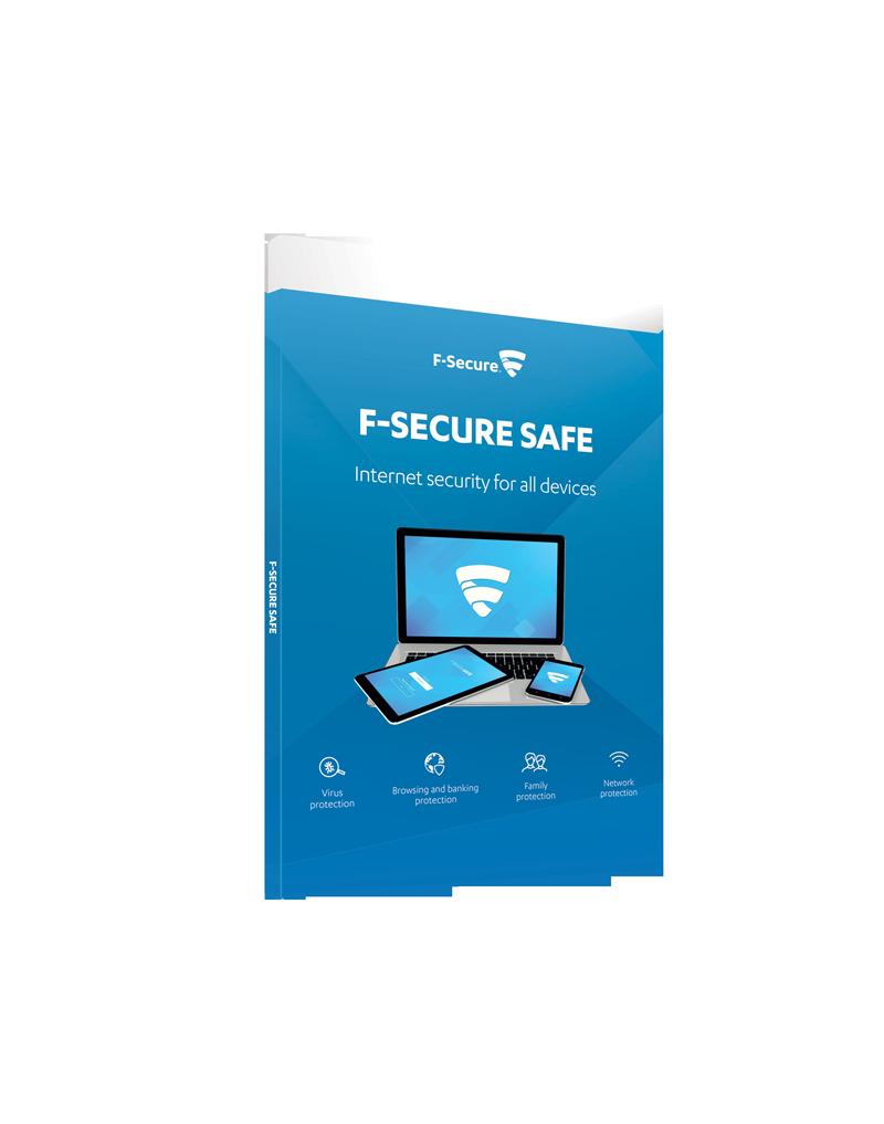 F-Secure Safe, Licenta electronica, 1 utilizator, 1 an
