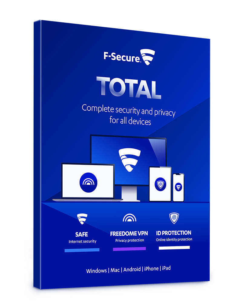 F-Secure Total Security and Privacy, Licenta electronica, 5 utilizatori, 1 an