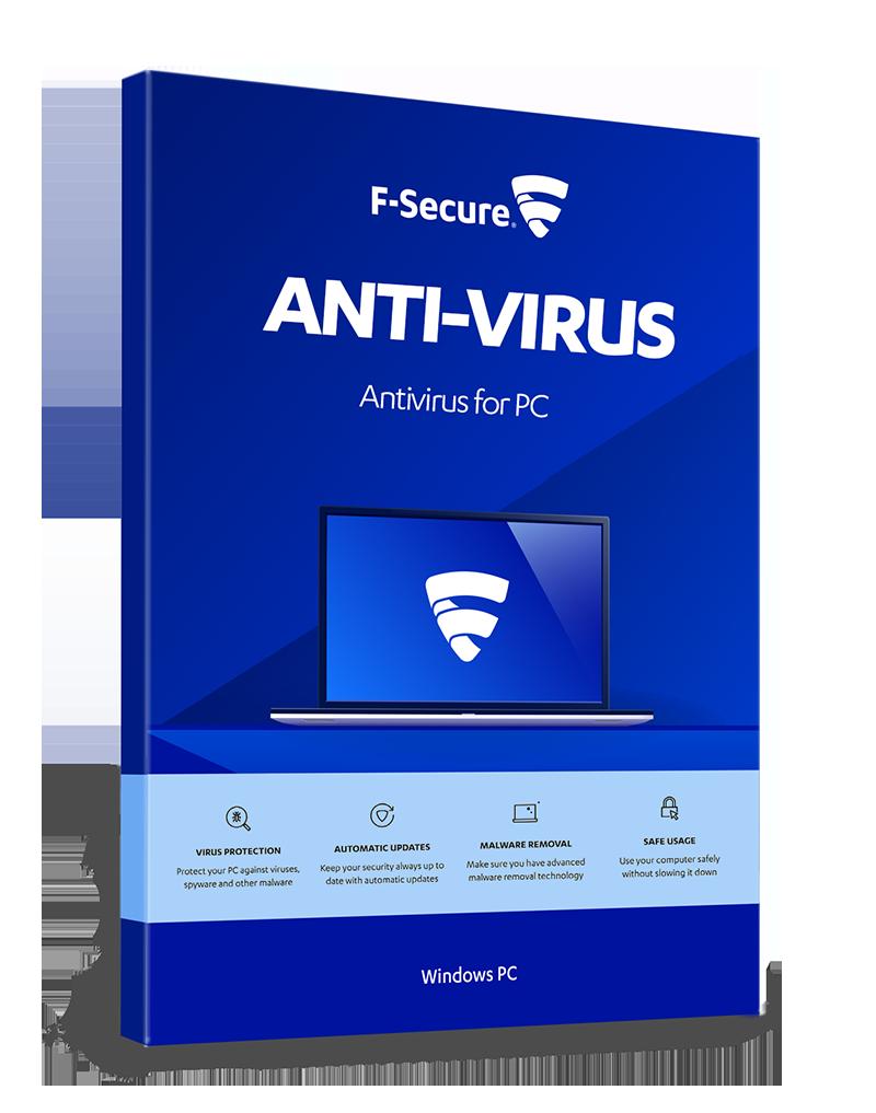 F-Secure Anti-Virus, Licenta electronica, 1 utilizator, 1 an