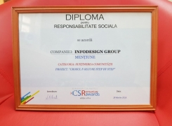 Crosul F-Secure Step by Step, premiat la Gala Romanian CSR Awards