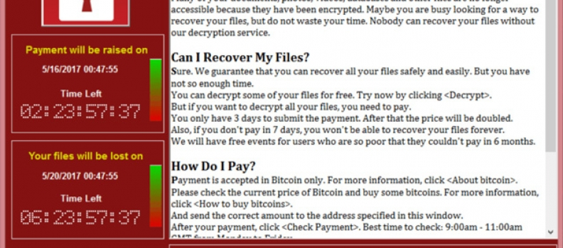 Recomandarile F-Secure despre WannaCry | Cel mai mare atac informatic de tip ransomware din istoria internetului